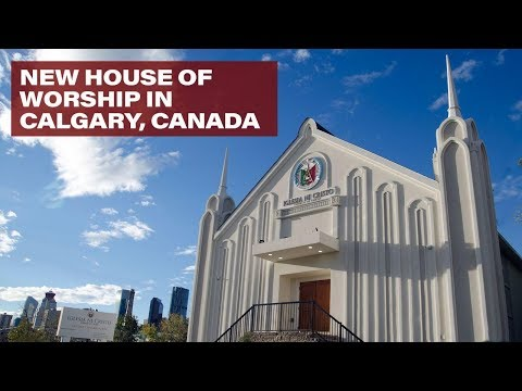 THE EXECUTIVE MINISTER VISITS CALGARY, ALBERTA, CANADA