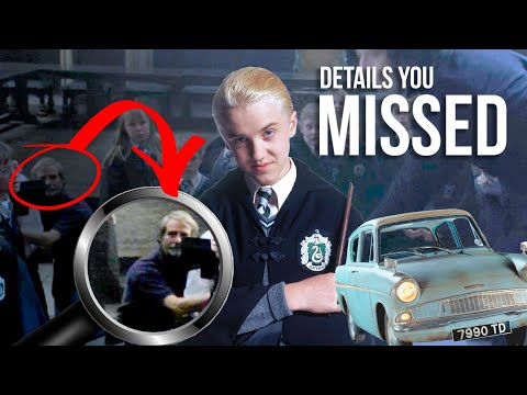 DETAILS YOU MISSED: Harry Potter And The Chamber Of Secrets