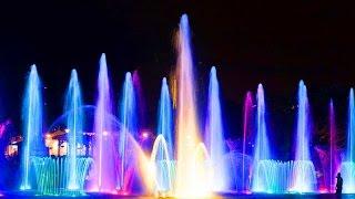 Кипр. Протарас. Шоу танцующих фонтанов - 01.05.2015
