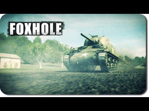 Revisiting Foxhole... Top Down World War II Warfare