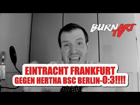 EINTRACHT FRANKFURT HERTHA BSC BERLIN 1. BUNDESLIGA SPIELANALYSE | BURNART TV #909