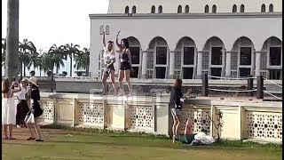 Sabah condemns 'disrespectful' dance by tourists near city mosque