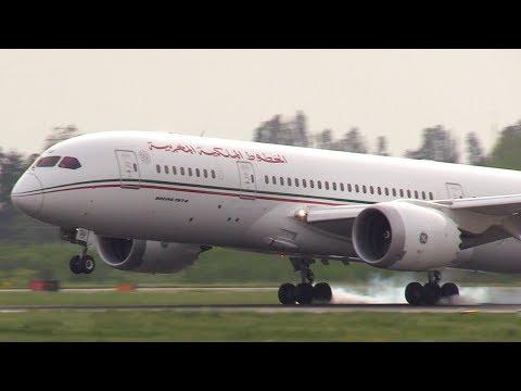 Royal Air Maroc B787 Dreamliner, Aeroporto Marconi Bologna