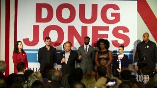 Doug Jones hosts rally on eve of Alabama Senate election thumbnail