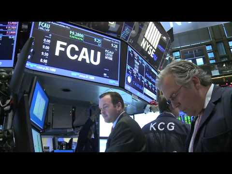 Fiat Chrysler Automobiles NYSE Opening Bell