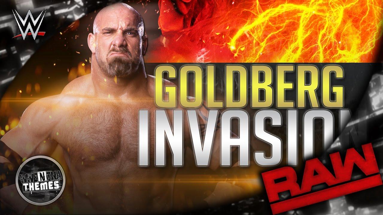 Goldberg 1st WWE Theme Song 2016 -