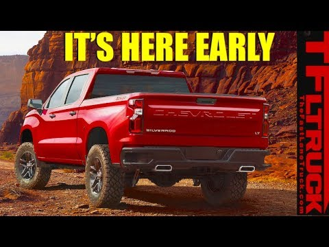 Surprise: New 2019 Chevy Silve 2019 silverado