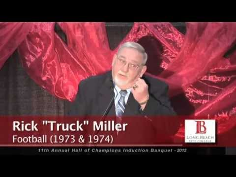 """Rick """"Truck"""" Miller Long Beach City College Hall of Fame ceremony"""