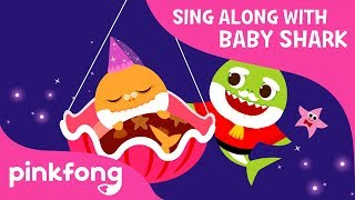 Sleeping Granny Shark | Sing Along with Baby Shark | Pinkfong Songs for Children