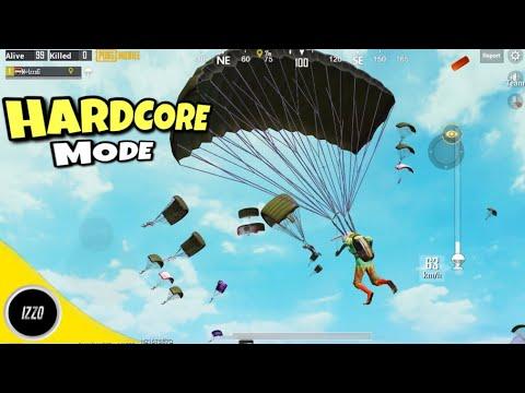 HARDCORE MODE IS BACK😍 - PUBG Mobile