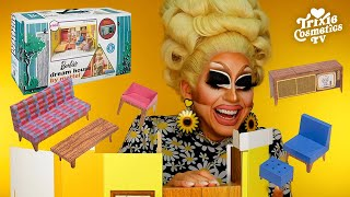 Building A Barbie Dream House with Trixie *STILL NOT SPONSORED*