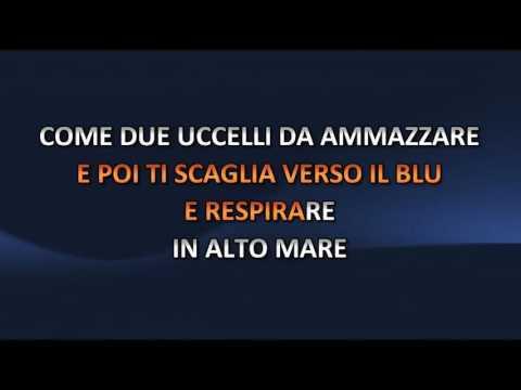 Loredana Berte' - In Alto Mare (Video karaoke)