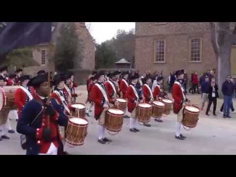Colonial Williamsburg Fifes and Drums. Caden Cunningham's Graduation March.