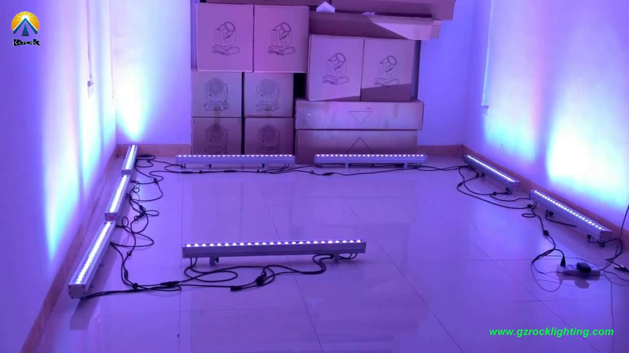 Effect show bar led light 24pcs rgbw 4in1 color for weddingdjparty effect show bar led light 24pcs rgbw 4in1 color for weddingdjparty and disco aloadofball Choice Image