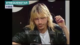 Extrait archives M6 Video Bank //  Renaud et sa bande créative (Fréquenstar - 1988)