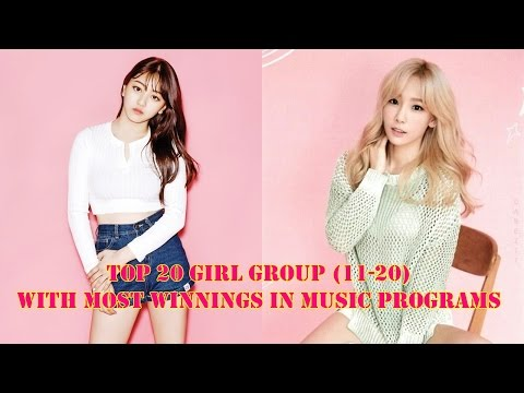 TOP 20 Kpop Girlgroup With Most Wins In Music Programs (including Solo and Sub-unit) (PART 1)