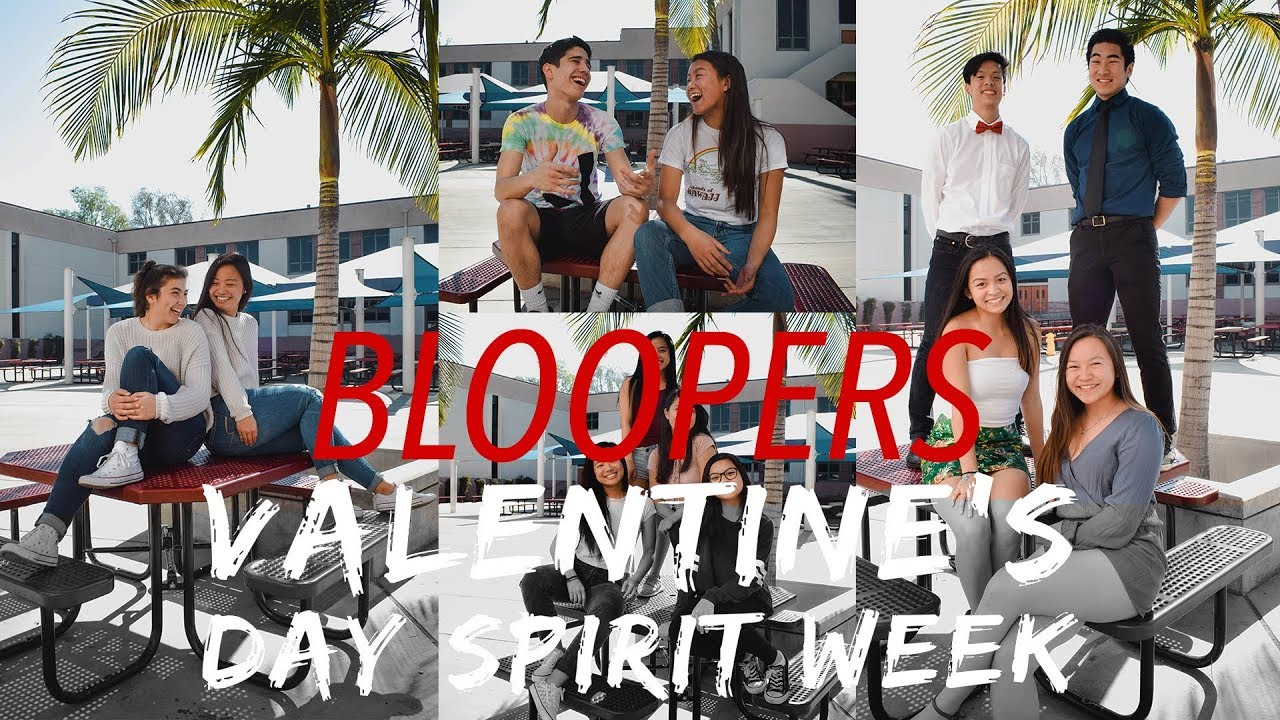 Bloopers Valentine S Day Spirit Week Promo 2018 Youtube