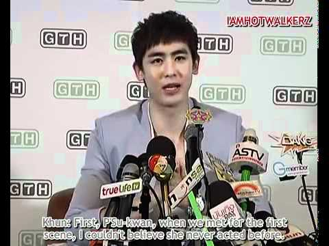 [Eng Sub] Nichkhun Seven Something Movie Press Conference