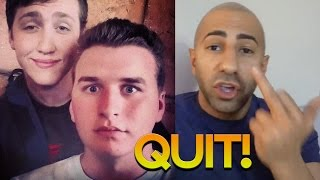 popular faze member comes back fouseytube quits youtube leafy h3h3 drama ends