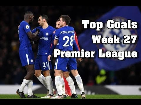 Top Goals Premier League Highlights ( English Commentary ) | Week 27 | 2017/18 HD