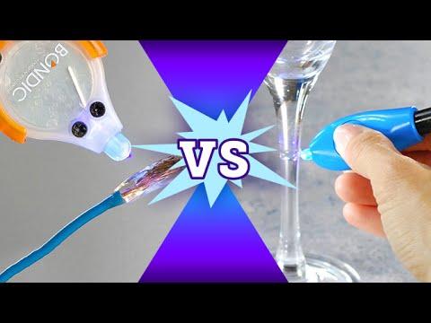 New Lazer Bond vs Bondic Comparison Test