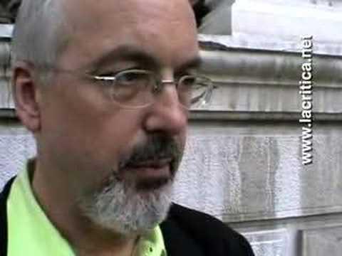 Bill Viola - Interview at 52. Venice Biennial 2007