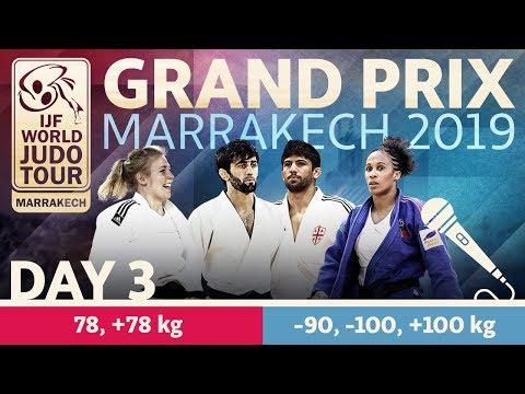 Judo Grand-Prix Marrakech 2019: Day 3