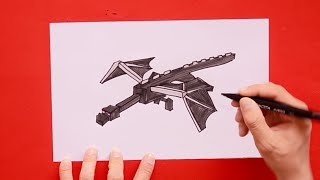 ender dragon drawing lesson