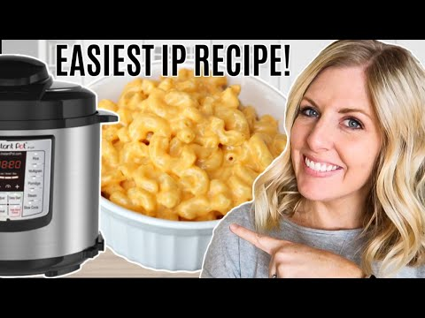 Extremely Easy And Affordable Instant Pot Macaroni And Cheese Recipe - How To Use An Instant Pot