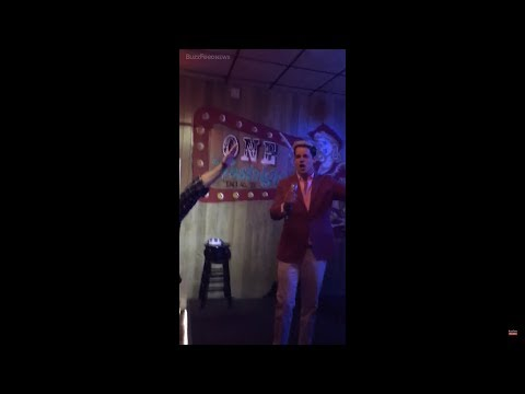 (Video) Milo Yiannopoulos With White Supremacists At A Bar Doing Nazi Salute
