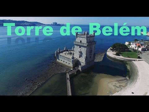 Torre de Belem Drone hyperlapse