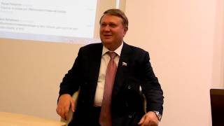 Александр Коровников, сенатор от Новгородской области