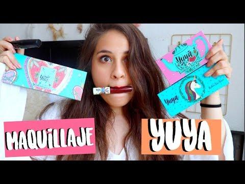 Probando el maquillaje de Yuya! ¿Funciona o no?  ValeHB