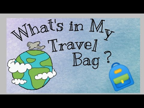 What's In My Travel Bag ?? || Travel Essentials