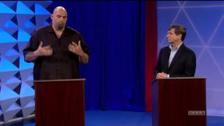 Join team fetterman: https://jhn.fm/joinonly one candidate committed to protecting your online privacy and free speech during wtae's u.s. senate debate in pi...