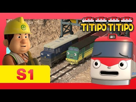 TITIPO S1 EP5 l Show me how fast you can go! l Trains for kids l TITIPO TITIPO