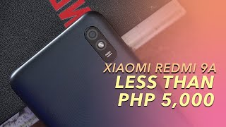 Xiaomi Redmi 9A Unboxing and First Impressions