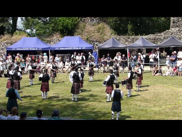 Askol Ha Brug aux Highland Games 2017 - Bressuire