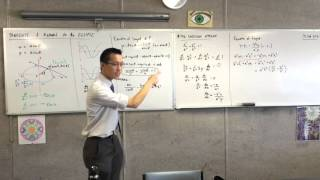 Tangents and Normals to the Ellipse (4 of 5: Using the Derivative to find equation of tangent)