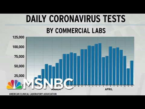 Rate Of US COVID-19 Testing Stalls Despite Trump Calls To End Stay-At-Home   Rachel Maddow   MSNBC