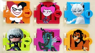 All about Villains Harley Quinn Chat Blanc Jinx Luna Girl Chrysalis Scar Trapped Doors Surprises