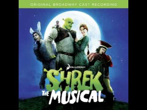 Shrek the musical audition clip (who'd i be)