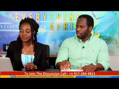 Africa Updates Phone In Segment With Adeola Fayehun & Olu Faloye [20/06/15]
