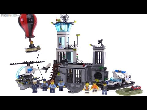 LEGO City 2016 Prison Island review! Police set 60130