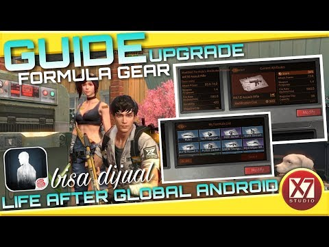 GUIDE UPGRADE FORMULA SENJATA & ARMOR - LIFE AFTER ANDROID - INDONESIA - 동영상