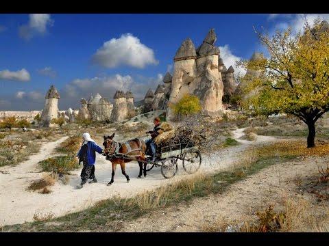 سياحة في تركيا - السياحة في كابادوكيا من أجمل مناطق السياحة بتركيا Tourism in kapadokya