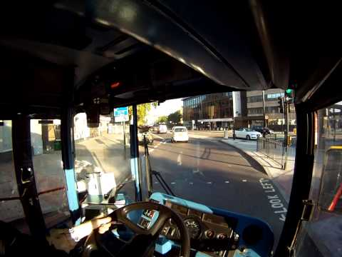 Bus Driver View Route 3 Cristal Palace to Oxford Circus  Part 1