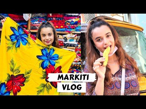 My First Time In MARKITI MOMBASA | Shopping & Street Food