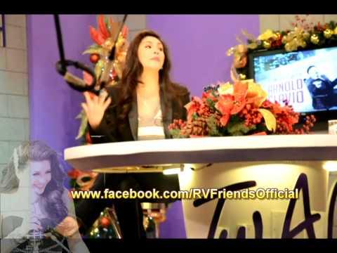 Regine Velasquez - Tonight with Arnold Clavio BTS Interview 1