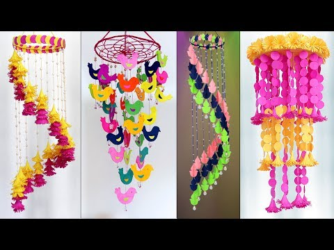 7 Amazing Home Decor Wall hanging Ideas !!! DIY Paper Craft